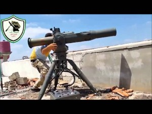protitankový systém USA TOW Sýrie