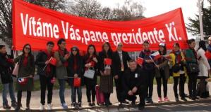 Čínský prezident poprvé v Praze
